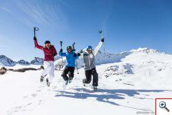 Skifahren am Rifflsee - Foto: Pitztalergletscherbahn